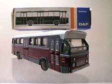 LION CAR 38 DAF SB200DO 1967 CITYBUS COLOUR RED/CREAM + BOX SCALE 1:50