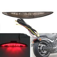 Moto arrière queue feu stop LED Eclairage Ampoule Lampe Pour Harley FXSB 2013-17