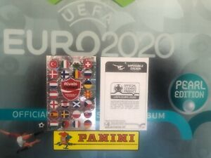 Panini Impossible Sticker Coca Cola Schweiz Swiss Pearl Edition Euro 2020 EM RAR