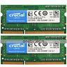 Crucial 4GB 2x2GB PC3-8500S DDR3-1066 204pin 1.5v CL7 SDRAM SODIMM Laptop Memory
