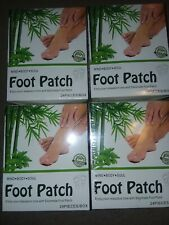 96 Foot Pads Patch Organic Natural Cleansing detox Relax Muscles Relieve Fatigue