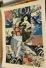 Visions Victoire Poster - 2017 - FAILE ART PRINT - Limited to 300
