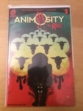ANIMOSITY THE RISE 1, 1ST PRINT, & ANIMOISTY 1 3RD THIRD PRINT, AFTERSHOCK