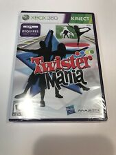"XBOX 360 VIDEO GAME: ""TWISTER MANIA"" *Requires KINECT* / NEW / FACTORY-SEALED"