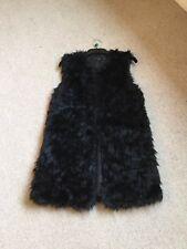 Ladies Top Shop Black Long Line Gillette Size 12