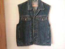 "Sleeveless Denim jacket Nico (L)44"" Chest Blue Excellent Condition"