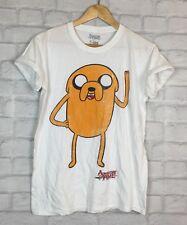 Bioworld Adventure Time Jake Hipster Cartoon Grunge T Shirt Top UK S