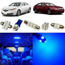 13x Blue LED Interior Lights Package Kit for 2009-2014 Acura TL +Tool AT3B