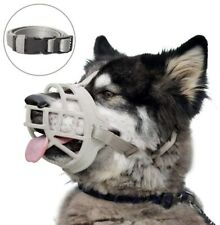 Dog Muzzle Soft Silicone Size 2 Grey Training