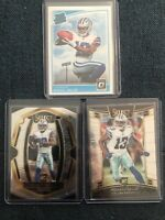 2018 MICHAEL GALLUP SELECT & OPTIC ROOKIE LOT [3] COWBOYS WR RC 's 🔥📈🔥