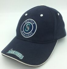 Seattle Mariners Baseball Cap Hat MLB Polyester Wool Navy one size fits all
