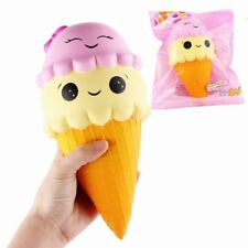 Squishy Ice Cream Cone Cake Super Soft Slow Rising Collection Gift Decor UK Chain