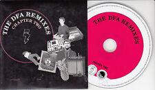 DFA The DFA Remixes Chapter Two UK 8-trk promo CD+PR Nine Inch Nails N*E*R*D