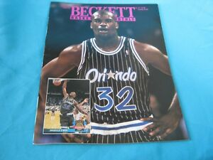 BASKETBALL BECKETT MONTHLY AUGUST 1993 ISSUE #37 SHAQUILLE O'NEAL ORLANDO MAGIC