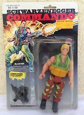 "Schwarzenegger Commando 6"" BLASTER action figure 50117 Diamond Toymakers1985 new"