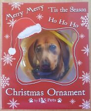 Christmas Ornament-Dachshund-Red