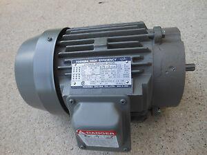 Toshiba 0.75HP motor 3/4HP NEW 3600RPM 230 Volt 460V 480V 56H Frame 56C-face