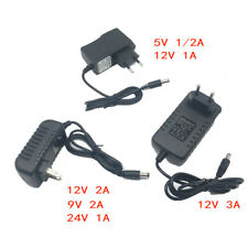 DC5V 9V 12V 24V 1A 2A 3A Adaptor DC 5 9 12 24V Volt Power Supply Charger Adapter