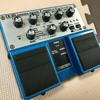 USED BOSS CE-20 CHORUS ENSEMBLE ELECTRIC GUITAR EFFECT TWIN PEDAL