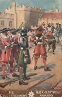 "EARLY 1900's VINTAGE COLDSTREAM GUARDS ""THE COLDSTREAMERS"" PURITANS POSTCARD"
