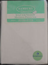 Single Bed Waterproof Mattress Protector - Fitted Style -  by Bambury