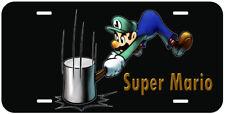 Super Mario Aluminum Novelty Tag Car License Plate