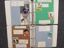 Mets (2 Notebooks/114 Pages/100 Autographs/175 Players/GARY  CARTER/RAY SADECKI)