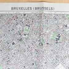 More details for ww2 1944 war office british intelligence map brussels belgium 1/12,500 raf d-day
