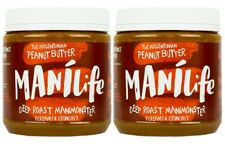 MANILIFE DEEP ROAST PEANUT BUTTER 295g (Pack of 2)