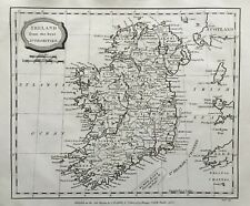 1806 Antique Map; Ireland - Barlow