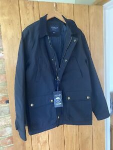 Mens Brand New Navy Joules Small Jacket