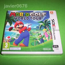 MARIO GOLF WORLD TOUR NUEVO Y PRECINTADO PAL ESPAÑA NINTENDO 3DS