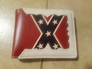 Confederation flag wallet, men