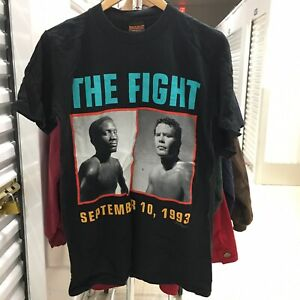 Vintage 1993 Pernell Whitaker vs Cesar Chavez Boxing T Shirt Single Stitch