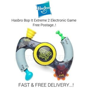 Hasbro Bop It Extreme 2 Electronic Handheld Game 2002 Tested & Working Free P&P.