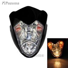 Universal Motorcycle Headlight Streetfighter Alien Custom For GSXR ZXR CBF GSF