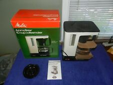 Melitta Aromabrew 10 Cup Coffee Maker NIB NOS
