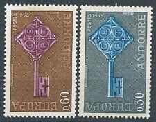 1968 EUROPA ANDORRA FRANCESE MNH ** - EV-3