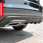 PU Rear Bumper Diffuser spoiler Bumper Protector For Ford Focus Sedan 2012+