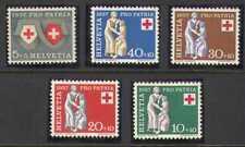 Switzerland 1957 Red Cross 5v set (n20378)