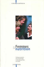 Livre femmes & nutrition Pr B. Guy-Grand book
