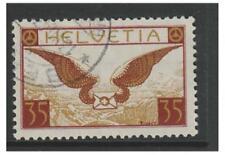 Switzerland - 1929, 35c Air stamp - F/U - SG 320