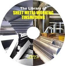 SHEET METAL WORK TINSMITHING Pattern Drafting Triangulation Cutting Pipe Duct CD