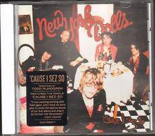 NEW YORK DOLLS Cause I Sez So NEW CD 12 track 2009 Todd Rundgren