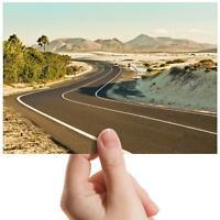 "Corralejo Fuerteventura Road Small Photograph 6""x4"" Art Print Photo Gift #16563"