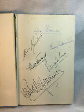 More details for rare - 1950 'signed 1st edition  book 'the art of ballet' multiple signatures !!