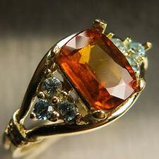 Cushion Zircon Not Enhanced Fine Gemstone Rings