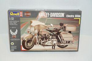 Revell Harley-Davidson 1/12 Electra Glide Motorcycle Plastic Model Kit Open Box