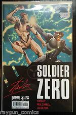 Soldier Cero #4 Cubierta De Un VF+ 1 º Tirada Boom Studios Comics
