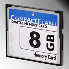 High Speed 8GB Compact Flash Compactflash CF Memory Card 8G for Camera 8 GB 1PCS